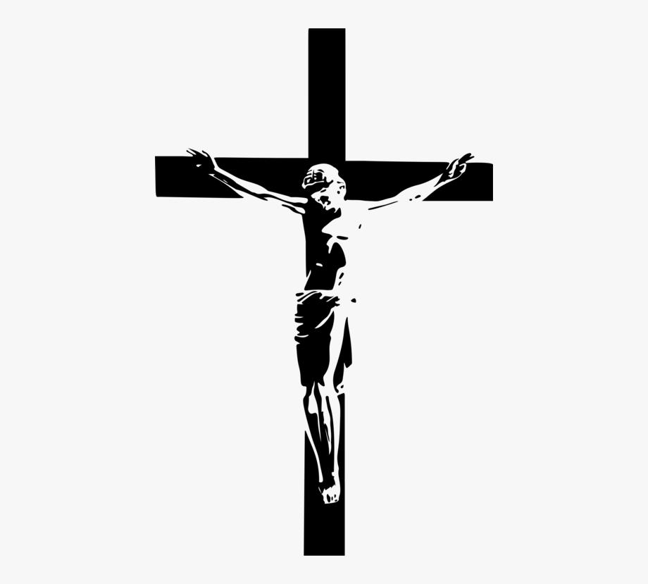 Crucifix Vector Paint Cross.