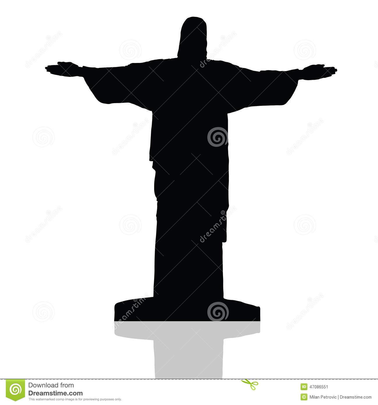 Cristo Redentor Ilustrações, Vetores E Clipart De Stock.