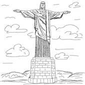 Cristo Redentor Clip Art.