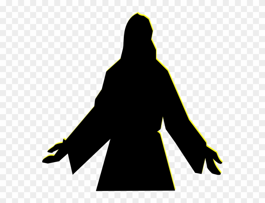 Jesus Christ Silhouette Png Clipart (#72776).