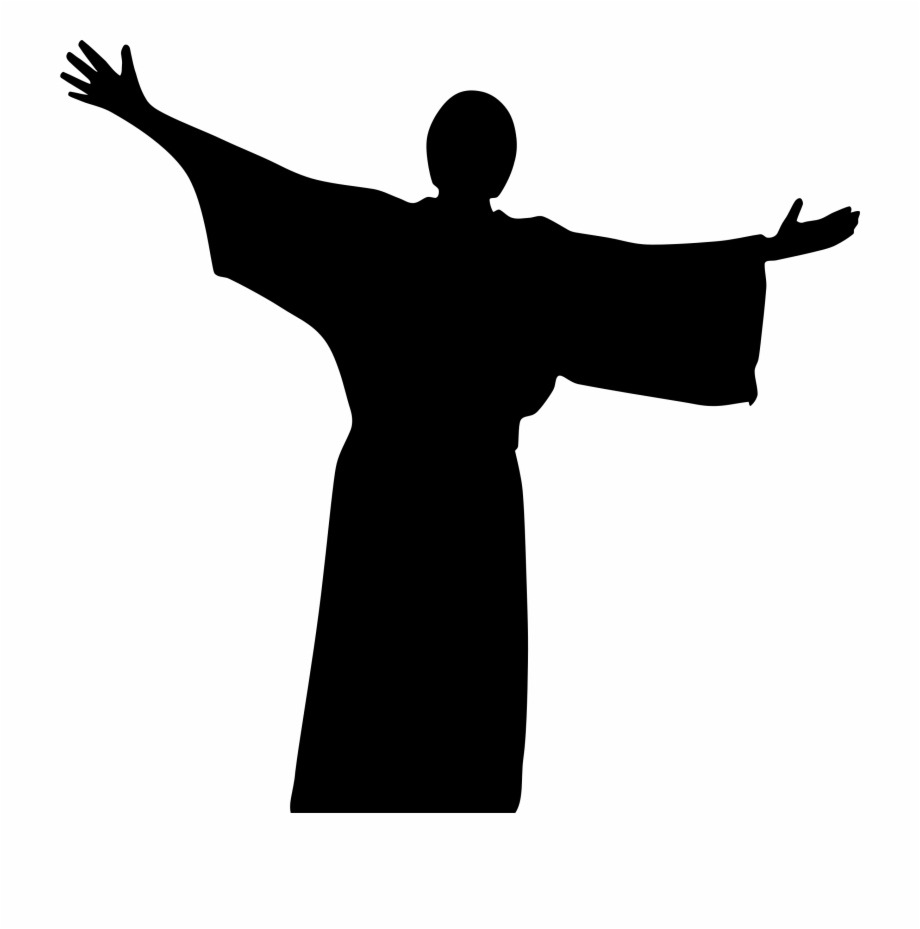 This Free Icons Png Design Of Jesus Christ Silhouette.