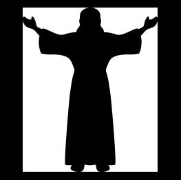 Jesus Silhouette.