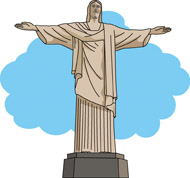 Christ the Redeemer Clip Art.