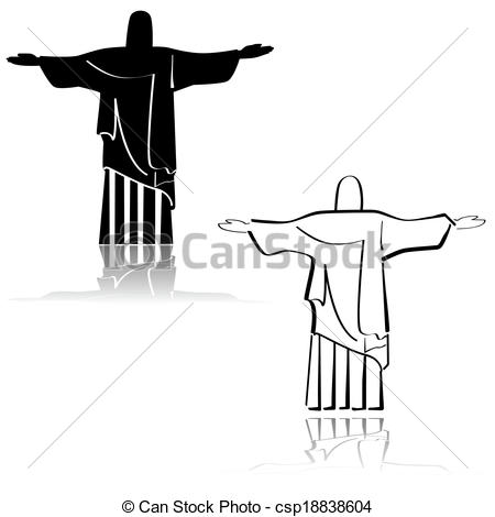 Christ redeemer statue Illustrations and Clip Art. 499 Christ.