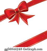 Christmas Bow Clip Art.