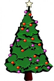 Christbaum clipart 1 » Clipart Station.