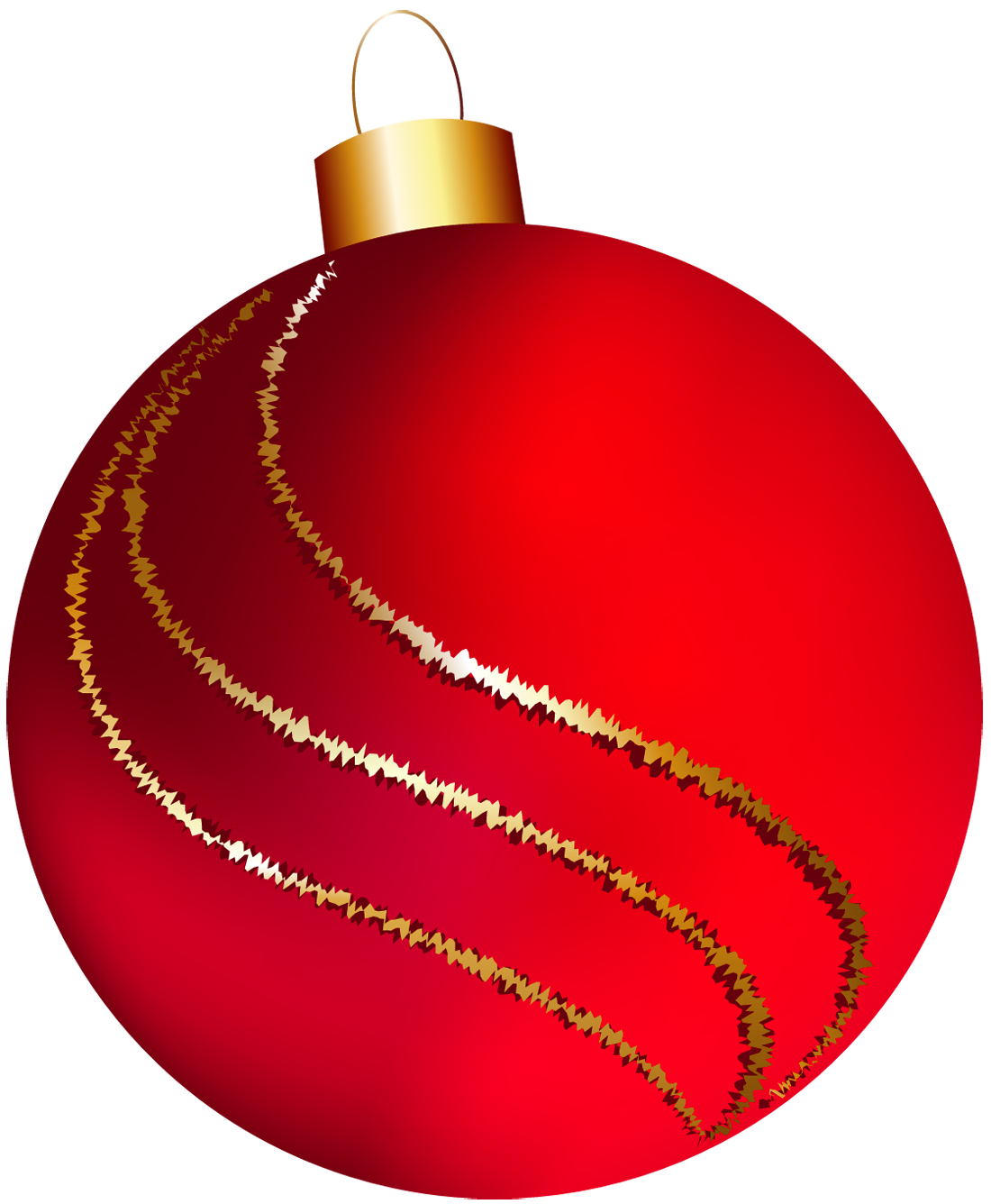 Free christmas ball ornament clip art.