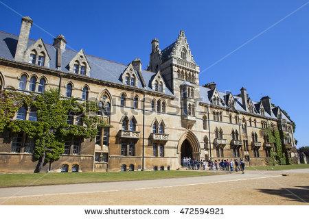 Christ Church Oxford Stock Photos, Royalty.