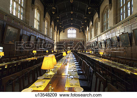 Stock Photograph of England, Oxfordshire, Christ Church College.