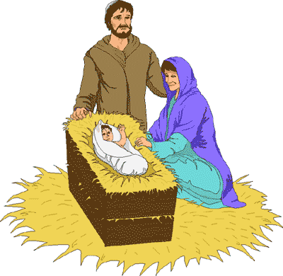Baby Jesus Birth Clipart.