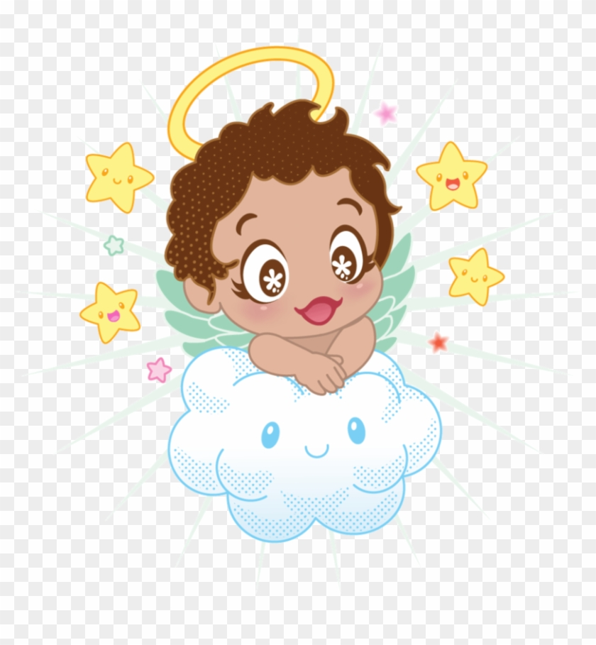 Christening Angels Png.
