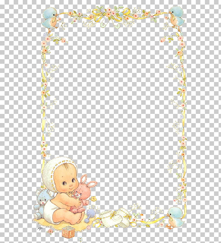 Baptism Frames Photography Infant, smile, baby hugging pink.