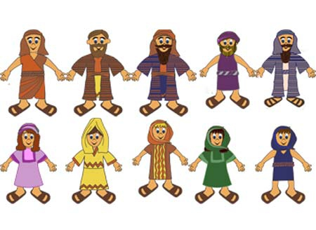 Christian Character Cliparts.