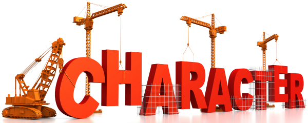 Christian character traits clipart.