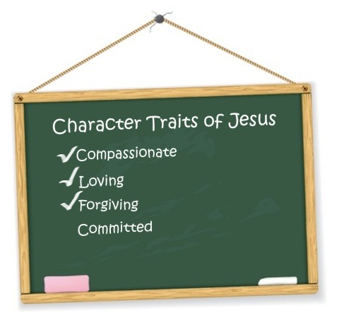 Clipart for bible character traits.
