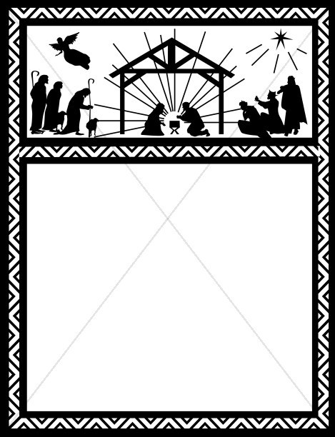 Christian christmas borders clipart 5 » Clipart Portal.
