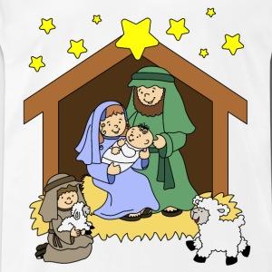 Christian Christmas Nativity Scene T.