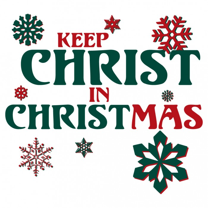 Keep Christ in Christmas Religious Christmas T.