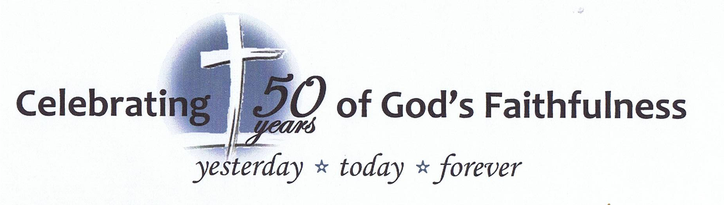 Church 50th Anniversary.