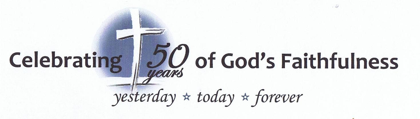 Church 50th Anniversary.