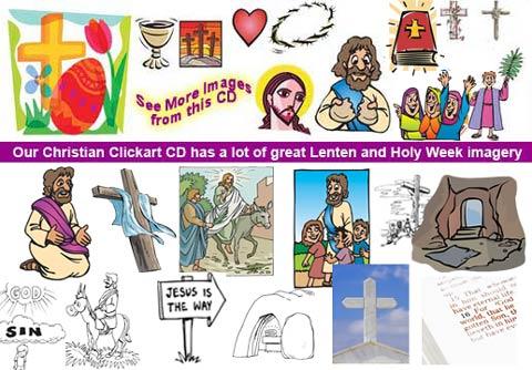Christian ClickArt Clipart CD.