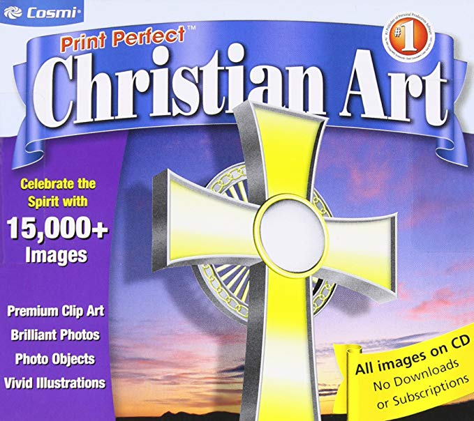 Printperfect Christian Clipart with 15,000+ Images: Amazon.ca: Software.