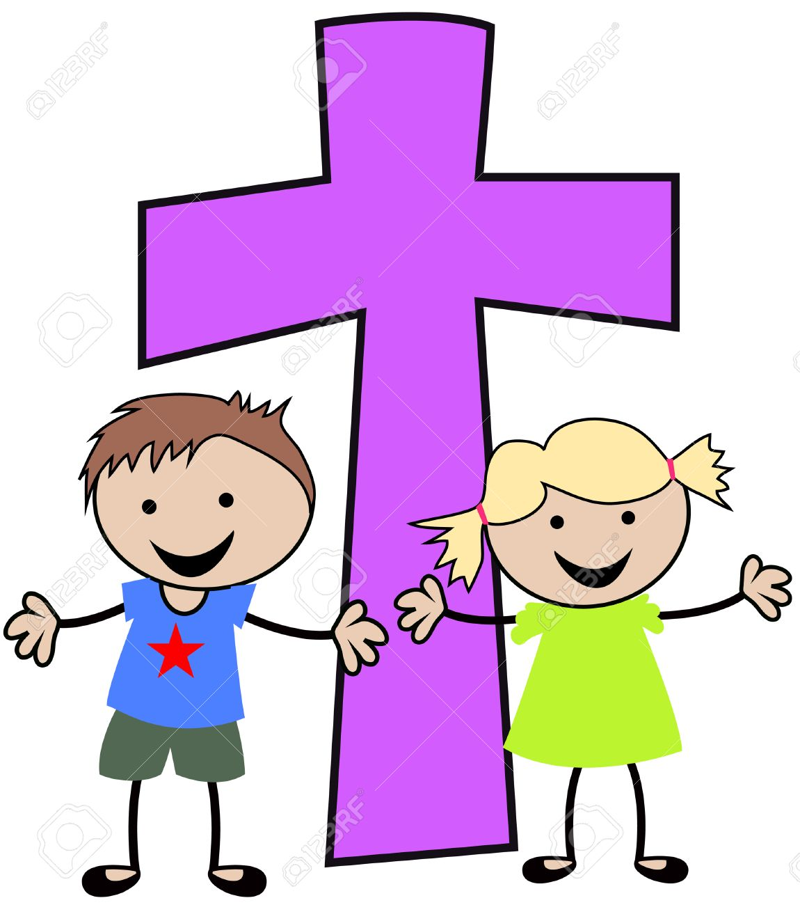 Kids Christian Clipart Boy & Free Clip Art Images #24406.