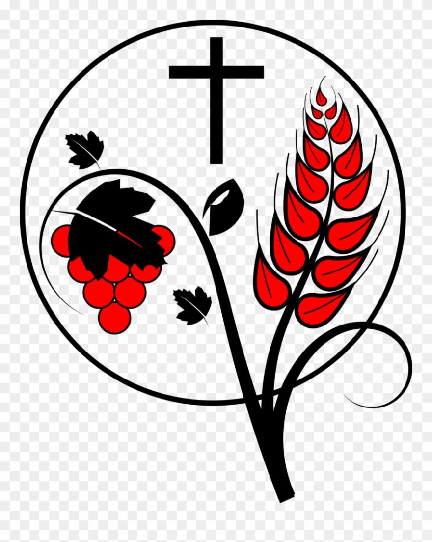 Free Christian Communion Clip Art.