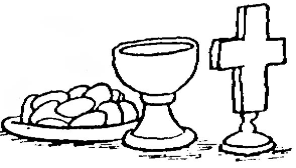 free religious clip art communion.