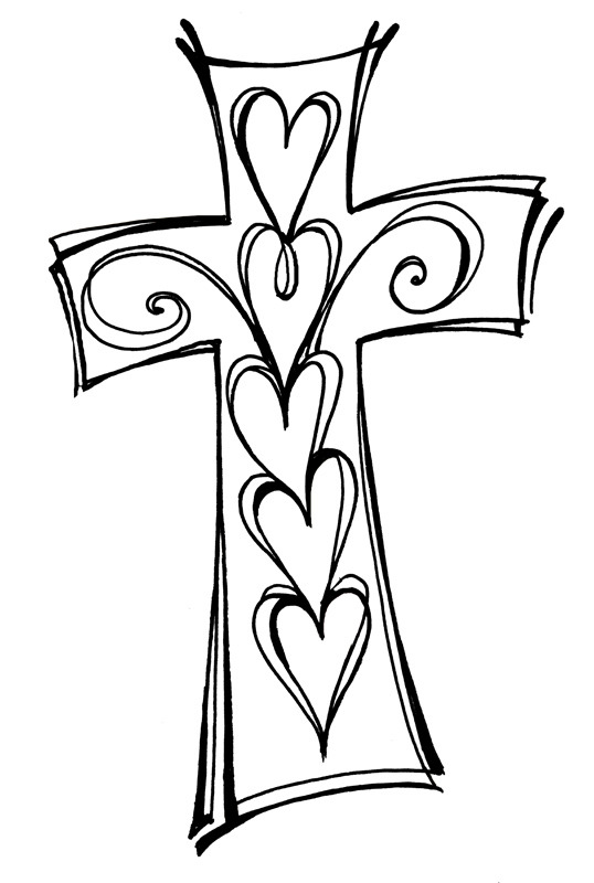 Christian Clipart Black And White.