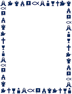 Library of clip art religious borders png files.