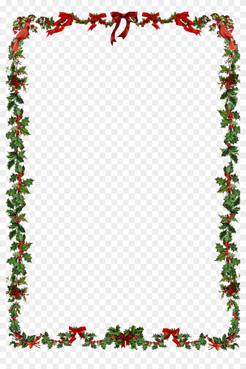 holiday borders for word.