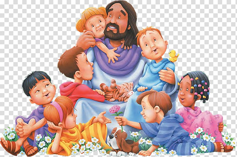 Teaching of Jesus about little children Christian, child.