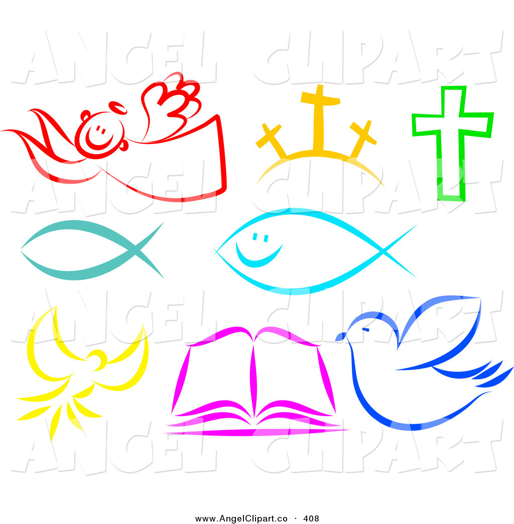 Christian Clipart Free Black And White.