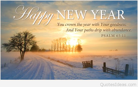 Happy New Year 2016 Religious Clipart.
