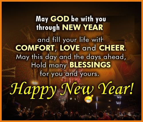 New Year Christian Clipart Free.