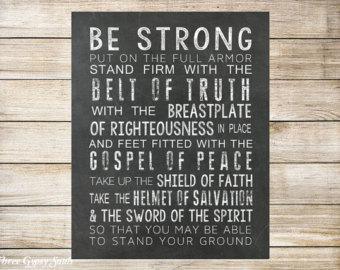 Ephesians 6.