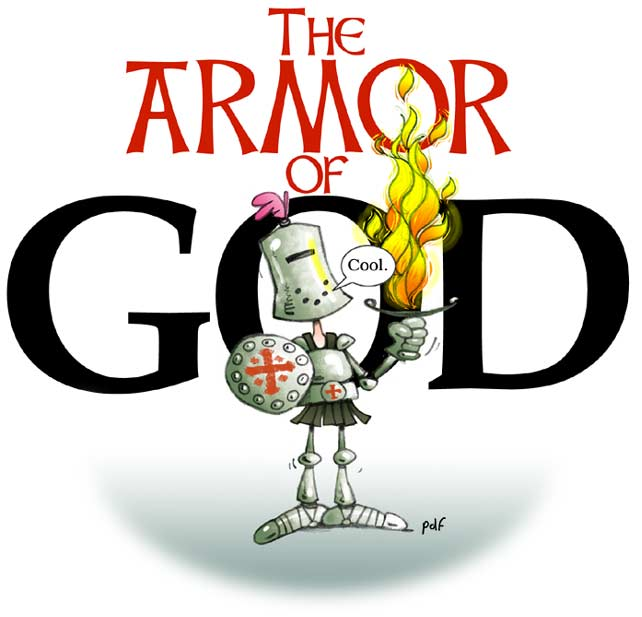 Christian Clipart Of Full Body Of Armor.