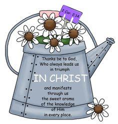 Bible Verse Clip Art.