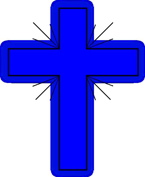 Blue Cross 2 Clip Art at Clker.com.