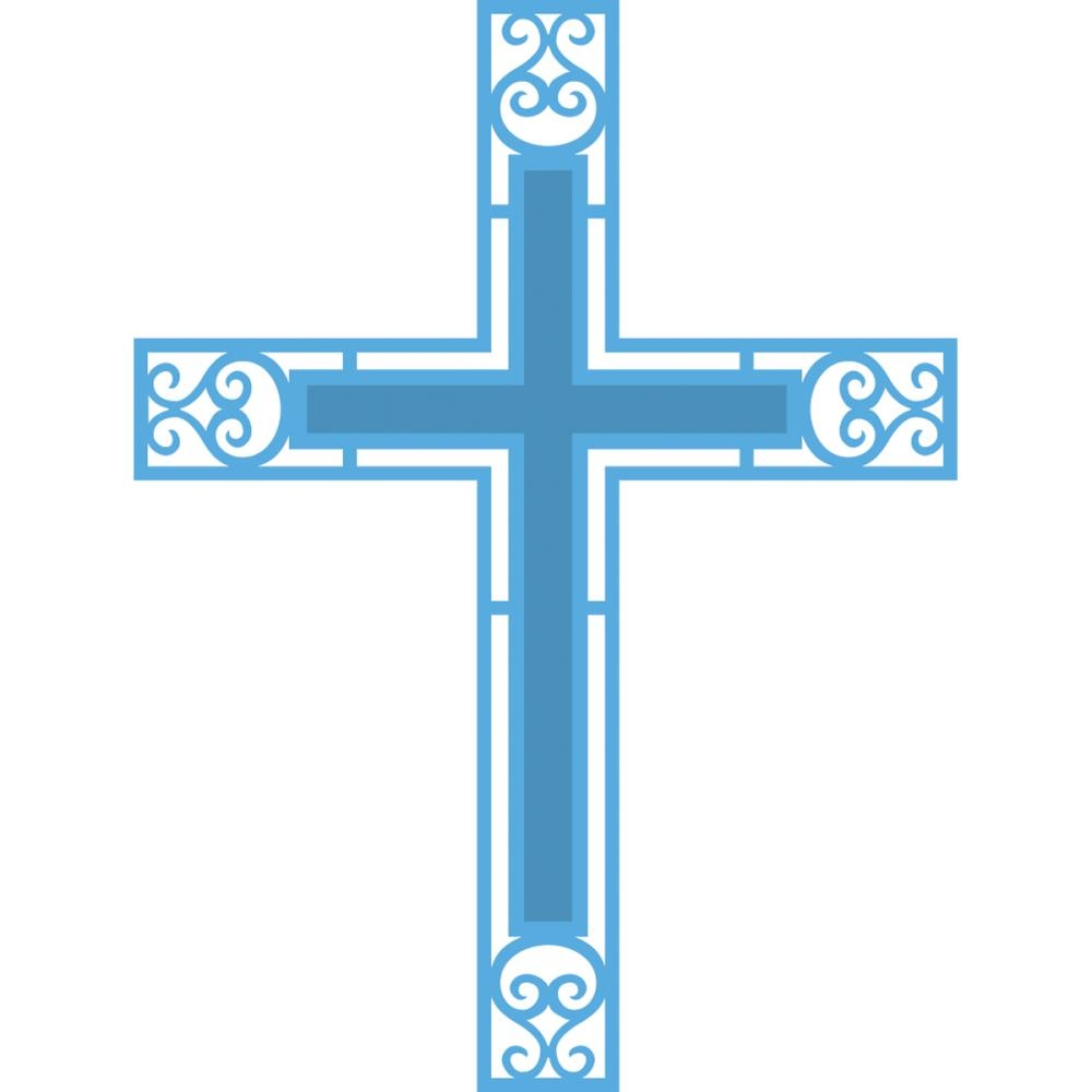 Cross With Transparent Background.