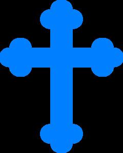 Blue Cross Clip Art at Clker.com.