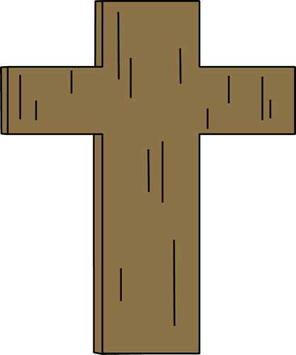 Simple christian cross clipart free clipart images clipartcow 2.