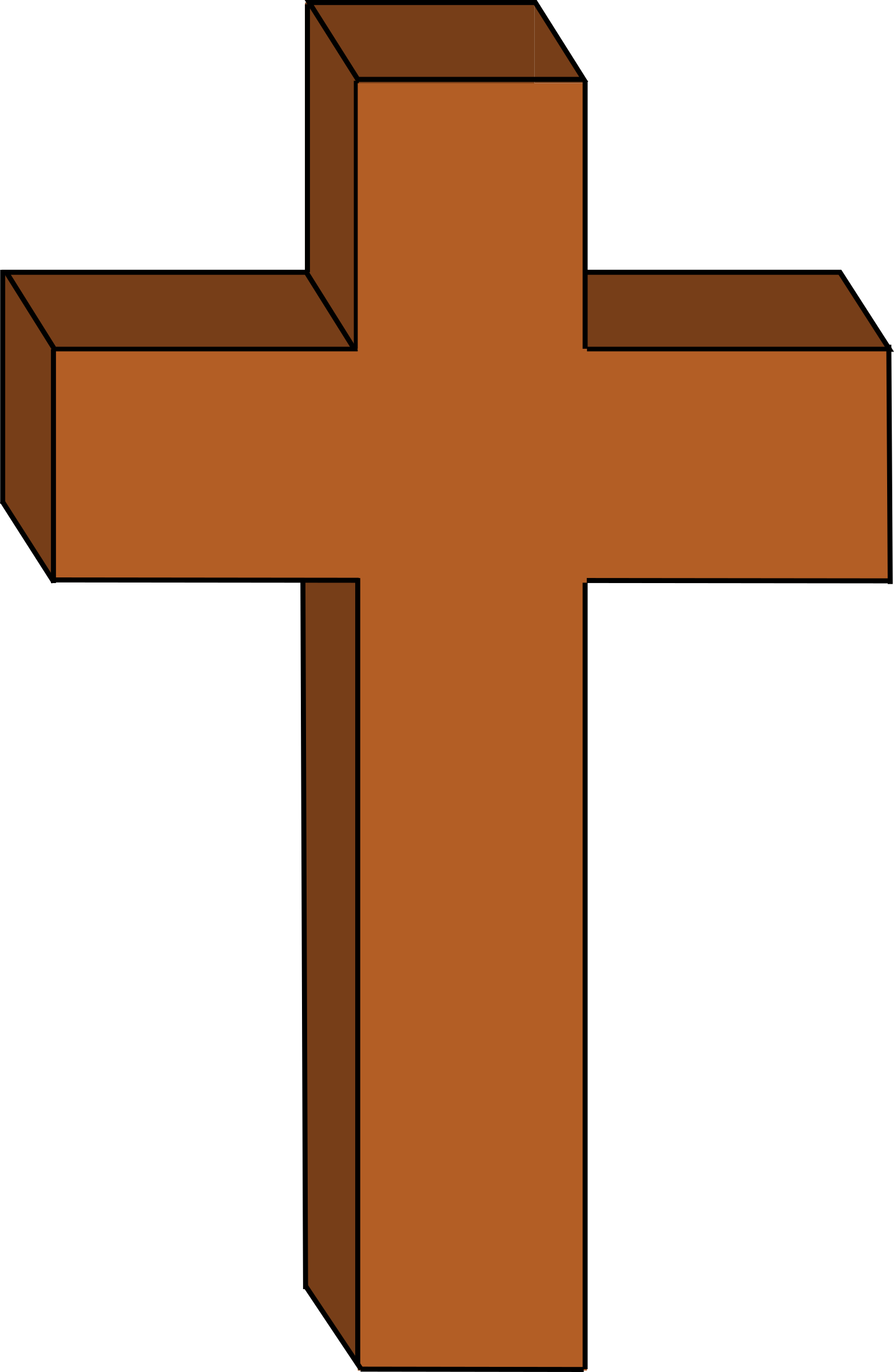 Download Christian Cross PNG Clipart 1.