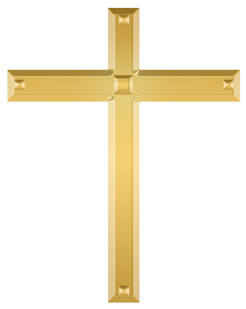 Christian Cross PNG Image Without Background.