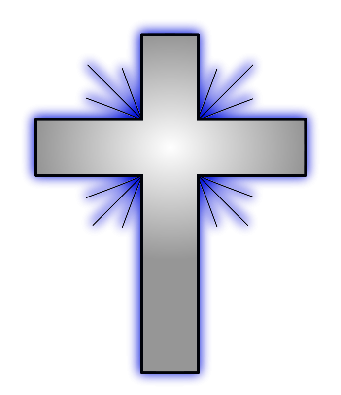 Christian Cross Transparent.