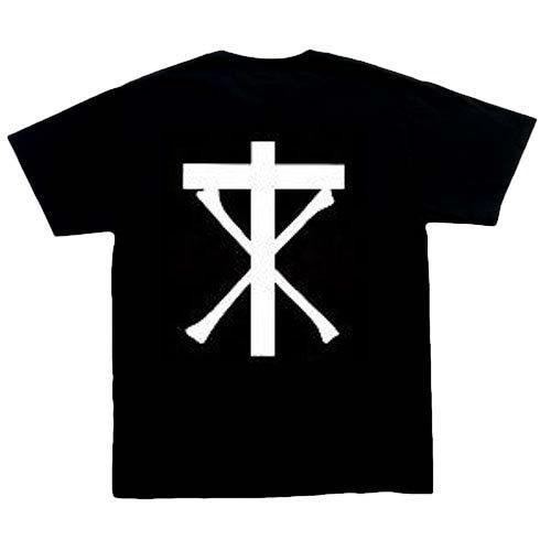 Christian Death Classic Logo music t Shirt, Black ,100% cotton, S.