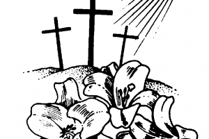 Christian easter clipart black and white 1 » Clipart Portal.