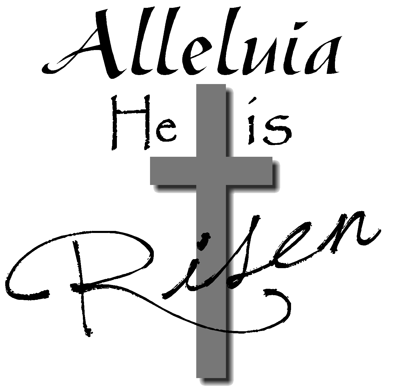 Religious easter clipart black and white 5 » Clipart Station.