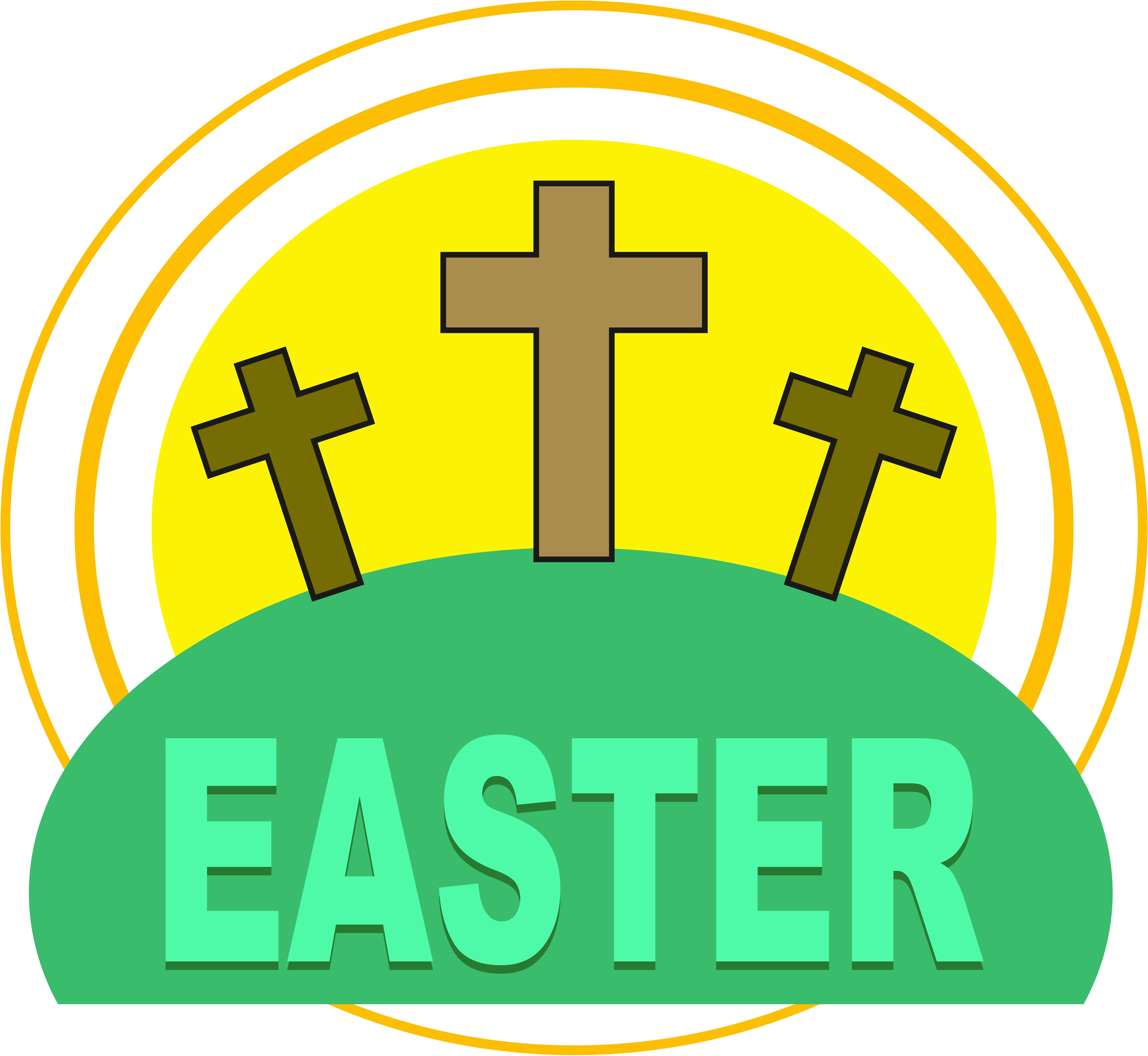 Easter clip art image christian.